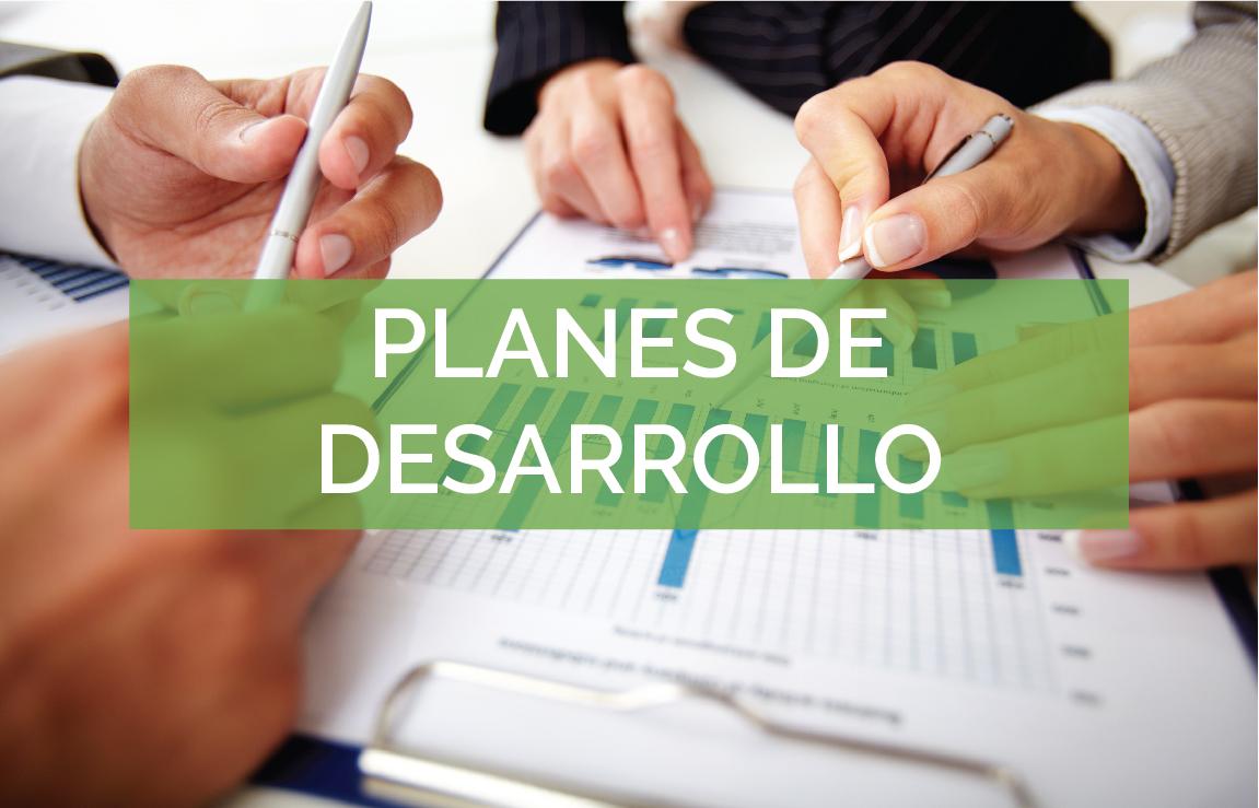 planes desarrollo